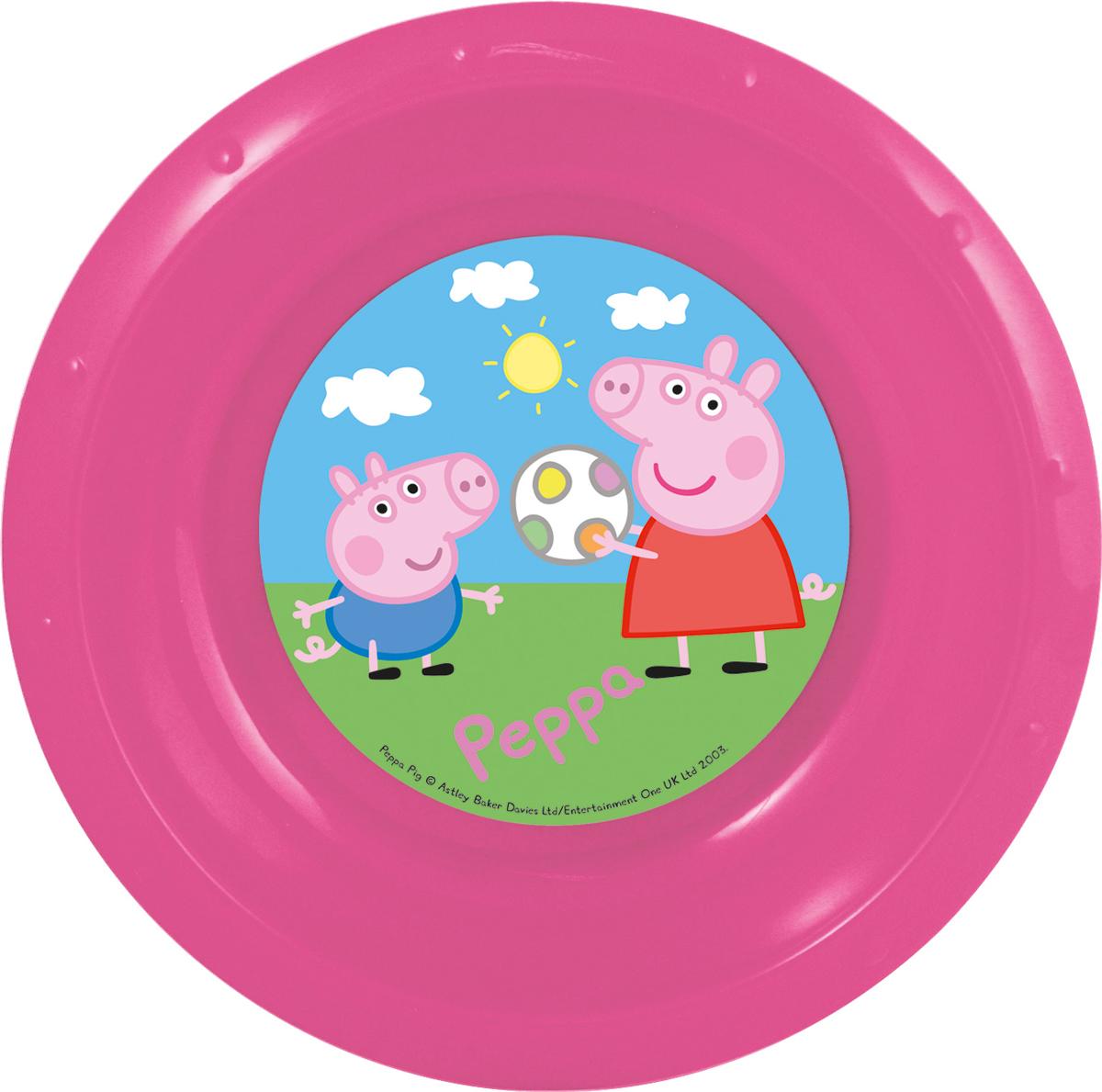 Peppa Pig Миска детская Свинка Пеппа52811Миска детская Свинка Пеппа диаметром 16 см.
