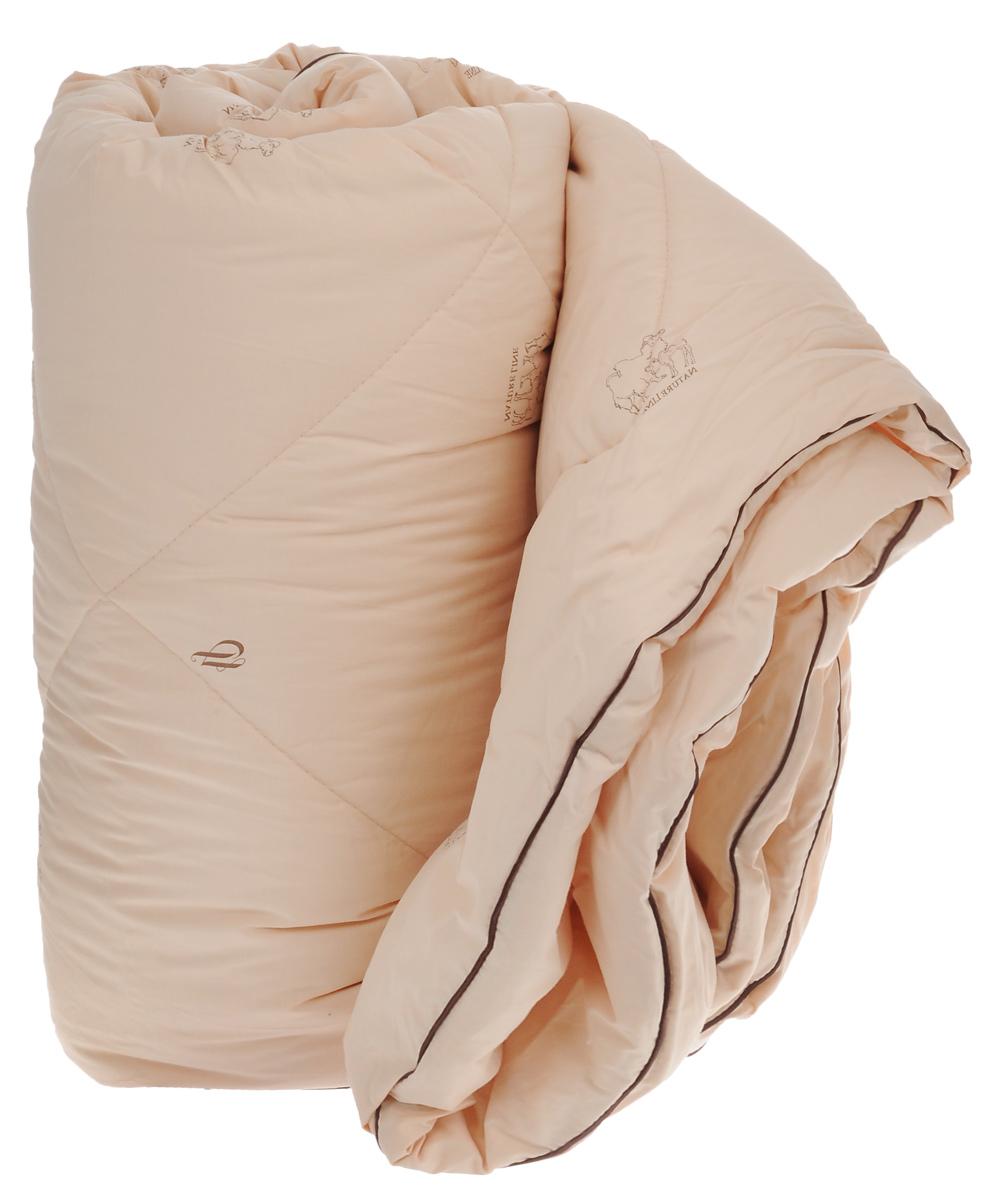 Одеяло зимнее La Prima, наполнитель: верблюжья шерсть, полиэфирное волокно, цвет: темно-бежевый, 200 х 220 см00000004568Одеяло La Prima Верблюжья шерсть - это выбор тех, кто заботится о своем здоровье, поскольку оно отличается не только теплотой и мягкостью, но и своими целебными свойствами. Чехол выполнен из тика (100% хлопок). Наполнитель - натуральная верблюжья шерсть с добавлением полиэфирного волокна. Одеяло простегано и окантовано, стежка равномерно удерживает наполнитель внутри. Одеяло из верблюжьей шерсти подарит вам абсолютный комфорт во время сна, так как оказывает положительное влияние на организм человека. Оно создает эффект сухого тепла, прогревая мышцы и суставы, успокаивает и снимает усталость. Одеяло из верблюжьей шерсти теплее, прочнее и при одинаковом объеме значительно легче овечьей шерсти. Оно гипоаллергенно и рекомендовано для профилактики и лечения многих заболеваний. Зимнее одеяло из верблюжьей шерсти удобно и комфортно, оно создаст оптимальный микроклимат в постели в холодное время года. Рекомендации по уходу: - Стирка при...