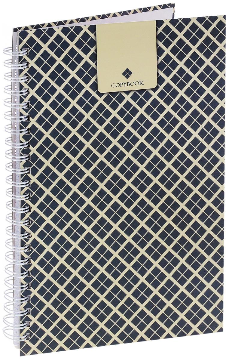 Listoff Тетрадь Copybook 100 листов в клетку72523WDТетрадь Listoff Copybook подойдет как школьнику, так и студенту. Обложка тетради выполнена из прочного картона и оформлена принтом. Внутренний блок тетради на гребне состоит из 100 листов белой бумаги с линовкой в клетку синего цвета без полей.