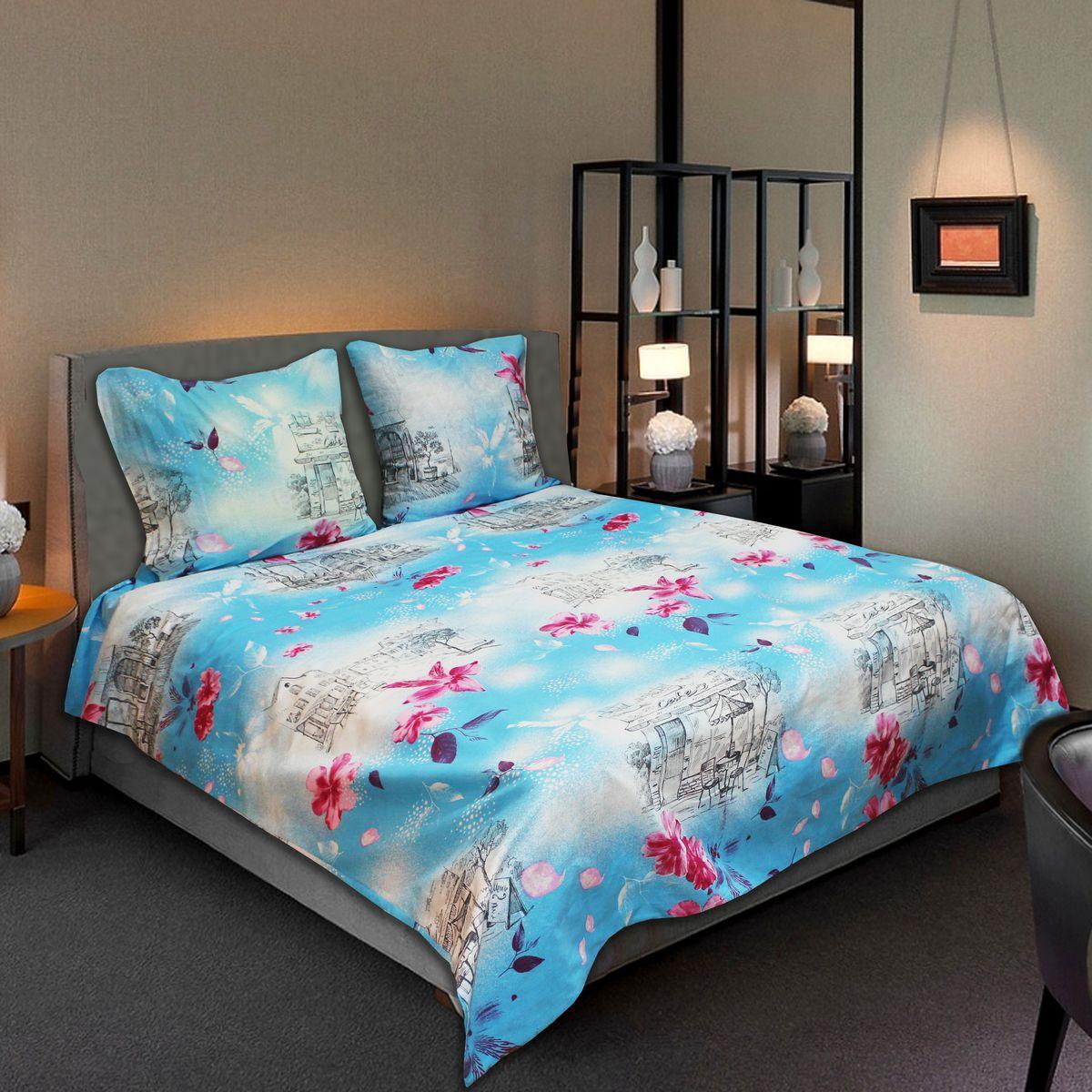 Комплект белья Amore Mio Light, 2-спальный, наволочки 70х7077713Комплект постельного белья Amore Mio является экологически безопасным для всей семьи, так как выполнен из бязи (100% хлопок). Комплект состоит из пододеяльника, простыни и двух наволочек. Постельное белье оформлено оригинальным рисунком и имеет изысканный внешний вид. Легкая, плотная, мягкая ткань отлично стирается, гладится, быстро сохнет. Рекомендации по уходу: Химчистка и отбеливание запрещены. Рекомендуется стирка в прохладной воде при температуре не выше 30°С.