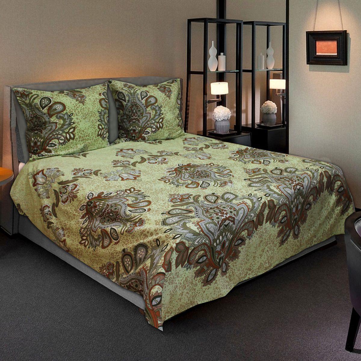 Комплект белья Amore Mio Decor, 2-спальный, наволочки 70х7077728Комплект постельного белья Amore Mio является экологически безопасным для всей семьи, так как выполнен из бязи (100% хлопок). Постельное белье оформлено оригинальным рисунком и имеет изысканный внешний вид. Легкая, плотная, мягкая ткань отлично стирается, гладится, быстро сохнет. Комплект состоит из пододеяльника, простыни и двух наволочек.