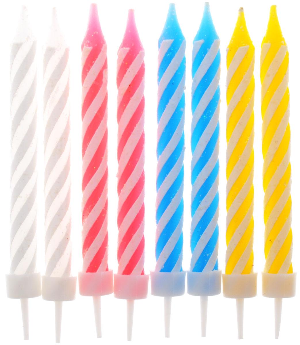 Action! Свечи для торта 8 шт  товары для праздника поиск свечи для торта с держателями мини 24 шт