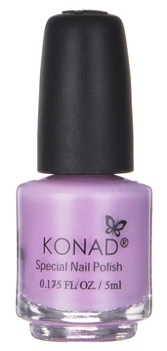 Konad Специальный лак для стемпинга Пастельно-фиолетовый S17 Pastel Violet 5 мл1301207Специальный лак для стемпинга 5 мл