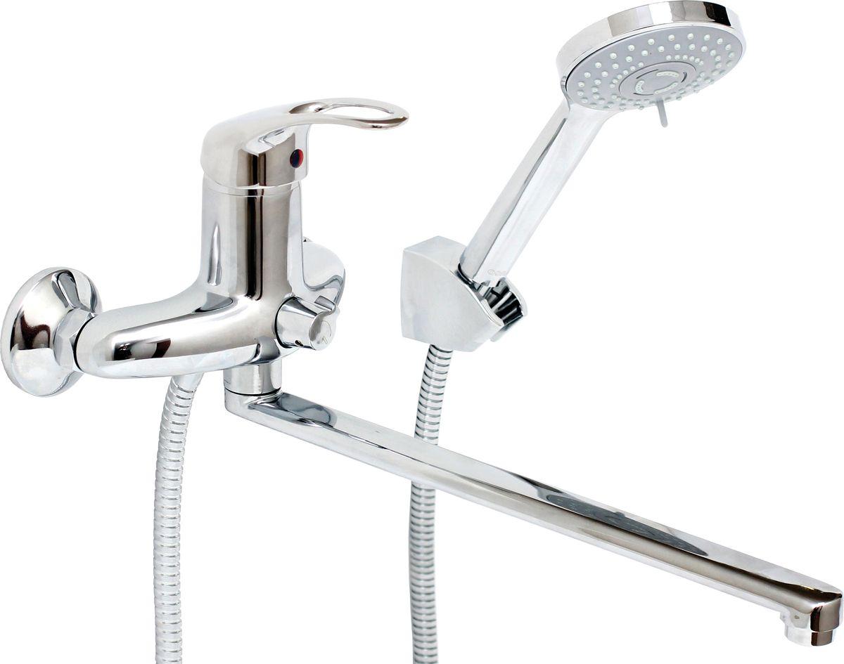 Смеситель для ванны и умывальника Argo Jamaica, керамический, длина 32,5 см27406Смеситель для ванны и умывальника Argo Jamaica предназначен для смешивания холодной и горячей воды, устанавливается на стену. Выполнен из высококачественного металла с покрытием из никеля и хрома. Запорный механизм: картридж d-40 мм Short-size Тип дайвотера: керамбукса Аэратор: ячейковый М24х1 OnlyPlast 10-13 л/мин при 0,3 МПа Крепеж: усиленный эксцентрик 3/4 x 1/2, прокладка-фильтр Комплектация: Душевой шланг 150 см, хромированная нержавеющая сталь, двойной замок, 1/2 Душевая лейка Lux трехпозиционная: душ, массаж, аэро Кронштейн