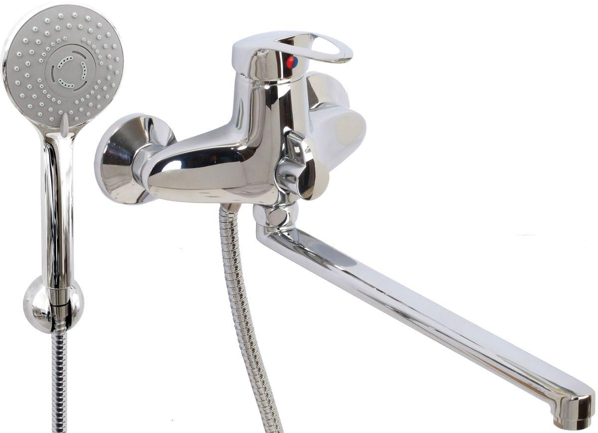 Argo смеситель для ванны и умывальника Olio, d-40, керамическийамбукса, L образный излив 325 мм27407Смеситель для ванны и умывальника 40-l35/k olio картридж d-40 мм short-size, крепеж эксцентрик 3/4 х 1/2 + прокладка-фильтр аэратор м24х1 наружная резьба only plast 10 - 13 л/мин. при 0,3 МПа покрытие никель / хром комплектация душевой шланг 150 см, оплетка - хромированная нержавеющая сталь, двойной замок, 1/2 душевая лейка Lux трехпозиционная: душ, массаж, душ/массаж кронштейн двухпозиционный материал основа латунь