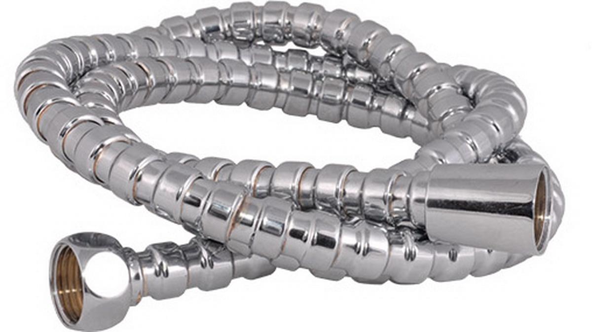 Шланг для душа Argo Eur-Link, 150 см. 33103BA900Универсальный гибкий шланг для душа Argo Eur-Link с внешней оболочкой излатуни, сочетает в себе отличные эксплуатационные характеристикии приятный дизайн. Прочный и надежный шланг эргономичен и прост в монтаже, удобен виспользовании. Длина: 150 см. Выходы шлага: 1/2. Тип фитинга: гайка - конус.Тип соединения оплетки: цепь.
