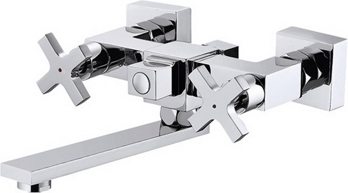 Смеситель для ванны Argo Quattro, керамический, длина 25,23 см35768Смеситель для ванны Argo Quattro предназначен для смешивания холодной и горячей воды, устанавливается на стену. Выполнен из высококачественного металла с покрытием из никеля и хрома. Запорный механизм: кран букса 1/2 90° Керамика 8х24 Тип дайвотера: керамбукса Аэратор: М24х1 наружная резьба NEOPERL CASCADE SLC Антикалькар 22,8 - 25,2 л/мин при 0,3 Мпа Крепеж: эксцентрик усиленный 3/4 х 1/2 с редуктором шума + прокладка-фильтр Комплектация: душевой шланг растяжной 150 - 180 см, оплётка - хромированная нержавеющая сталь, учащённый двойной замок, 1/2 с конусом свободного вращения душевая лейка GRANO кронштейн наклонный ключ для демонтажа аэратора предохранительные накладки для монтажа крепёжных гаек