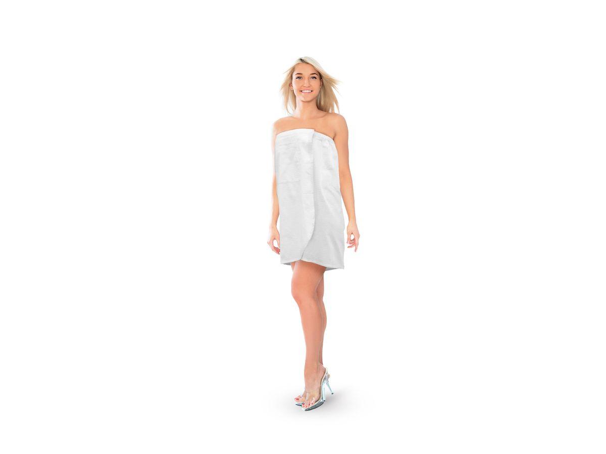 Proffi Home Парео вафельное, размер XL, цвет: белый.531-105Тип: Парео