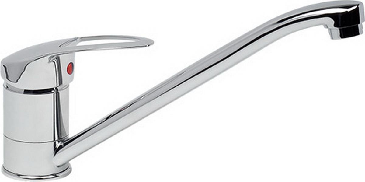 Смеситель для кухни Argo Olio, высота 15,5 см9688Смеситель для кухни Argo Olio предназначен для смешивания холодной и горячей воды, устанавливается на мойку. Выполнен из высококачественного металла с покрытием из никеля и хрома. В комплекте гибкая подводка Argo (длина 50 см). Запорный механизм: картридж d-40 мм Short-size Аэратор: ячейковый М24х1 OnlyPlast 10-13 л/мин при 0,3 МПа Крепеж: двухшточный Double-rod