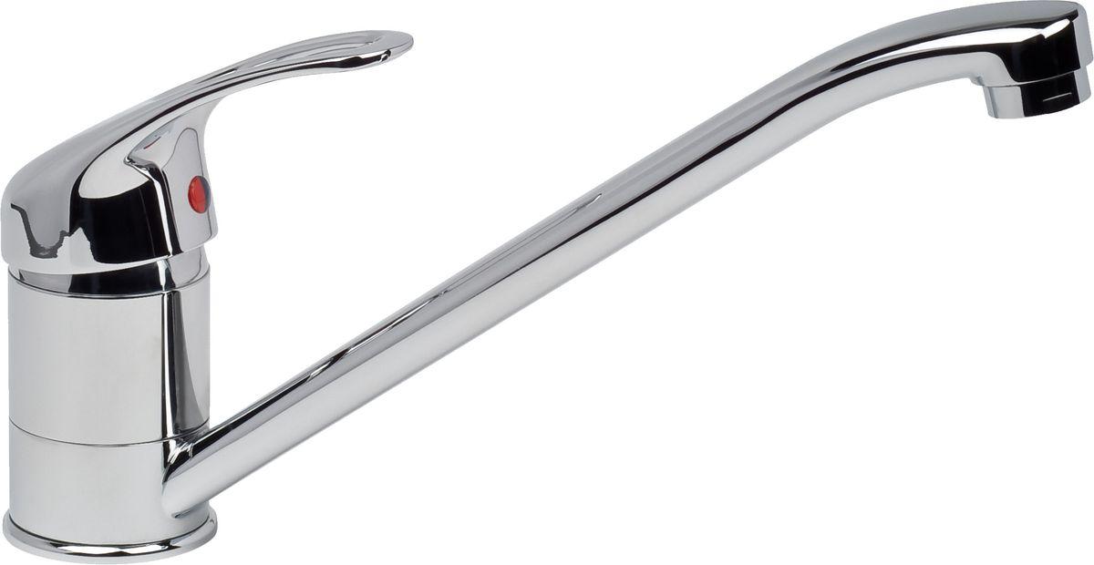 Смеситель для кухни Argo Jamaica, высота 15,5 см9690Смеситель для кухни Argo Jamaica предназначен для смешивания холодной и горячей воды, устанавливается на мойку. Выполнен из высококачественного металла с покрытием из никеля и хрома. В комплекте гибкая подводка Argo (длина 50 см). Запорный механизм: картридж d-40 мм Short-size Аэратор: ячейковый М24х1 OnlyPlast 10-13 л/мин при 0,3 МПа Крепеж: двухшточный Double-rod