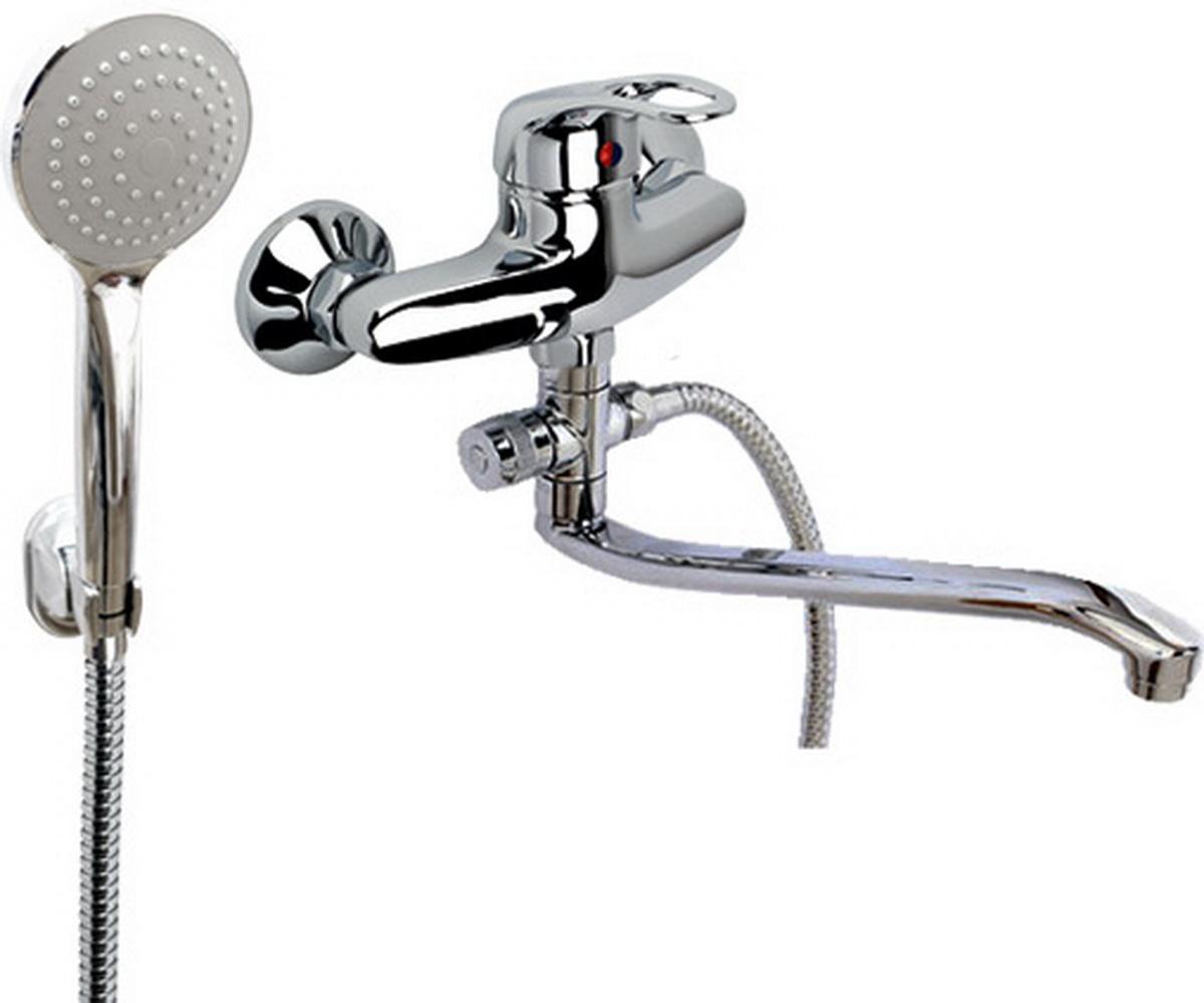 Смеситель для ванны и умывальника Argo Jamaica, длина 29,5 см9721Смеситель для ванны и умывальника Argo Jamaica предназначен для смешивания холодной и горячей воды, устанавливается на стену. Выполнен из высококачественного металла с покрытием из никеля и хрома. Запорный механизм: картридж d-40 мм Short-size Тип дайвотера: картриджный Аэратор: ячейковый М24х1 OnlyPlast 10-13 л/мин при 0,3 МПа Крепеж: эксцентрик 3/4 x 1/2, прокладка-фильтр Комплектация: Душевой шланг 150 см, хромированная нержавеющая сталь, двойной замок, 1/2 Душевая лейка Mono Кронштейн