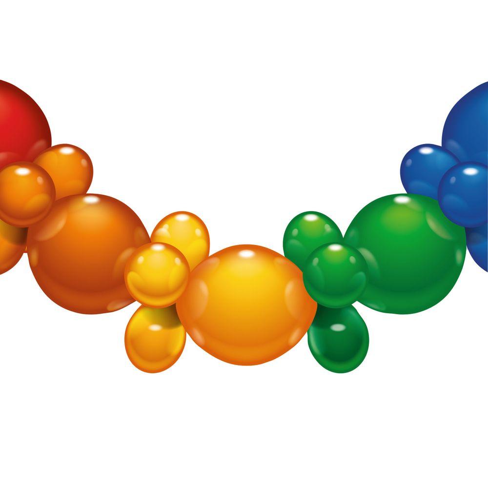 Susy Card Гирлянда детская из 25 шаров