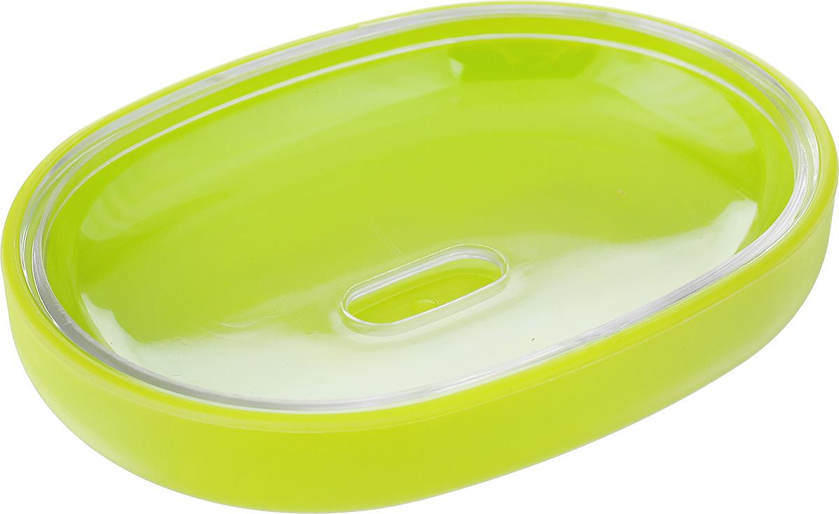 Мыльница Vanstore Plastic Green, цвет: салатовый, 12 х 9 х 2,5 см310-04Оригинальная мыльница Vanstore Plastic Green, изготовленная из пластика, отлично подойдет для вашей ванной комнаты. Такая мыльница создаст особую атмосферу уюта и максимального комфорта в ванной. Размер мыльницы: 12 х 9 х 2,5 см.