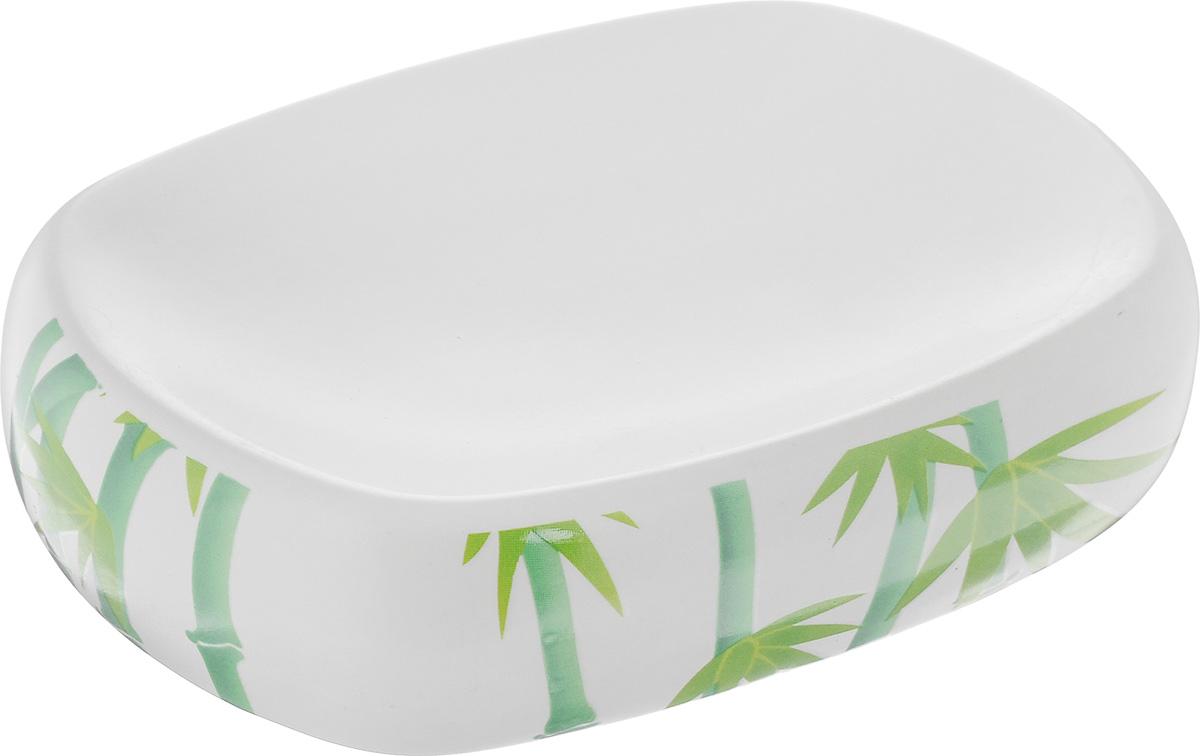 Мыльница Vanstore Green Bamboo, 12 х 8,5 х 3 см301-04Оригинальная мыльница Vanstore Green Bamboo выполнена из высококачественной керамики и украшена оригинальным рисунком, изделие отлично подойдет для вашей ванной комнаты. Такая мыльница создаст особую атмосферу уюта и максимального комфорта в ванной. Размер мыльницы: 12 х 8,5 х 3 см.