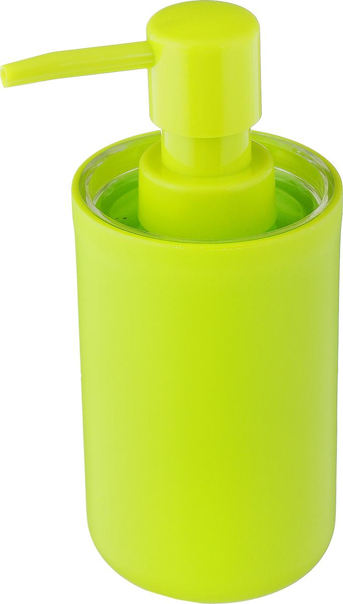 Дозатор для жидкого мыла Vanstore Plastic Green, цвет: салатовый, 300 мл310-03Дозатор для жидкого мыла Vanstore Plastic Green, изготовленный из пластика, отлично подойдет для вашей ванной комнаты. Такой аксессуар очень удобен в использовании, достаточно лишь перелить жидкое мыло в дозатор, а когда необходимо использование мыла, легким нажатием выдавить нужное количество. Дозатор для жидкого мыла Vanstore Plastic Green создаст особую атмосферу уюта и максимального комфорта в ванной. Размер дозатора: 6,5 х 6,5 х 13,5 см. Объем дозатора: 300 мл.