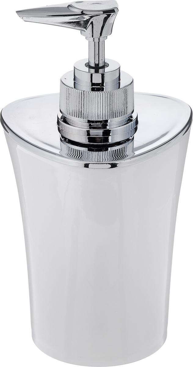Дозатор для жидкого мыла Vanstore Wiki White, цвет: белый, 300 мл355-03Дозатор для жидкого мыла Vanstore Wiki White, изготовленный из пластика, отлично подойдет для вашей ванной комнаты. Такой аксессуар очень удобен в использовании, достаточно лишь перелить жидкое мыло в дозатор, а когда необходимо использование мыла, легким нажатием выдавить нужное количество. Дозатор для жидкого мыла Vanstore Wiki White создаст особую атмосферу уюта и максимального комфорта в ванной. Размер дозатора: 8 х 8 х 16 см. Объем дозатора: 300 мл.