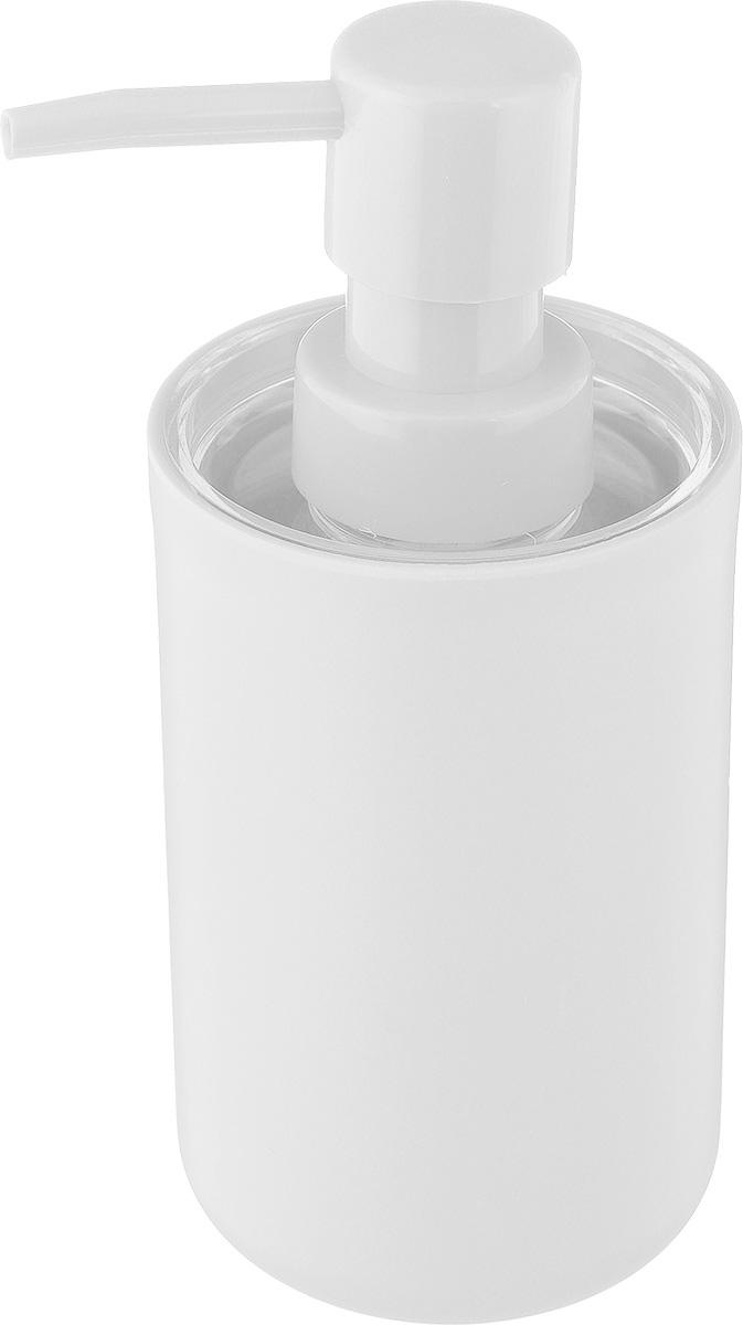 Дозатор для жидкого мыла Vanstore Plastic White, цвет: белый, 300 мл309-03Дозатор для жидкого мыла Vanstore Plastic White, изготовленный из пластика, отлично подойдет для вашей ванной комнаты. Такой аксессуар очень удобен в использовании, достаточно лишь перелить жидкое мыло в дозатор, а когда необходимо использование мыла, легким нажатием выдавить нужное количество. Дозатор для жидкого мыла Vanstore Plastic White создаст особую атмосферу уюта и максимального комфорта в ванной. Размер дозатора: 6,5 х 6,5 х 16 см. Объем дозатора: 300 мл.