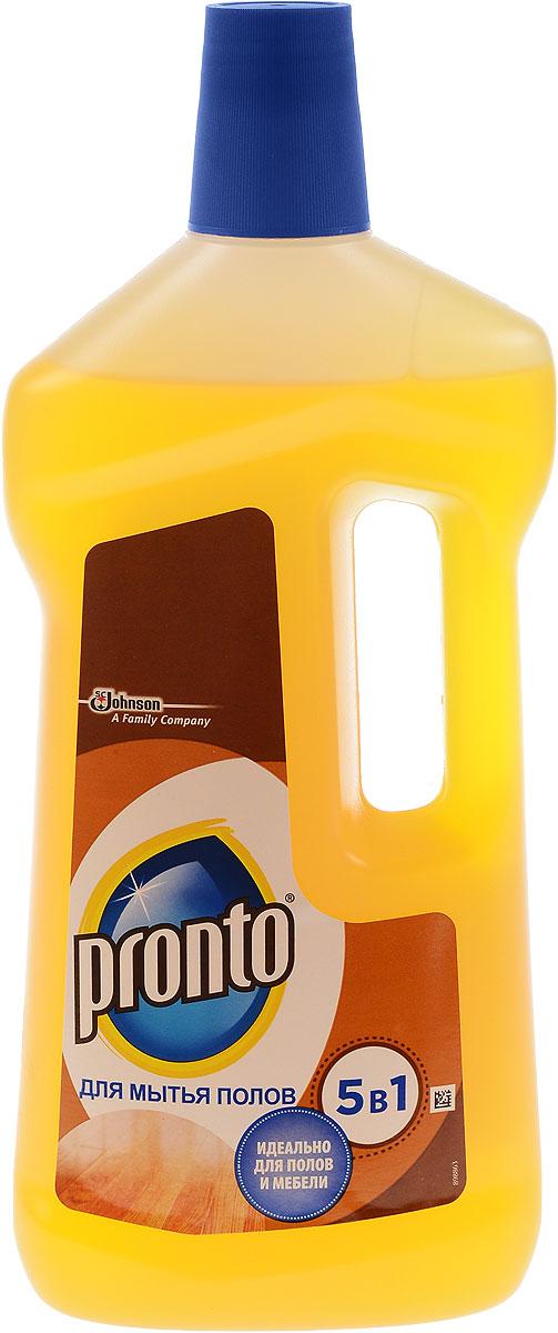Средство для мытья полов Pronto 5 в 1, 750 мл636747Средство для мытья полов Pronto 5 в 1 мягко очищает и ухаживает. Благодаря содержанию таллового масла и мягких моющих веществ легко очищает от грязи и жира, возвращая поверхности естественный блеск. Идеально подходит для мытья деревянных полов, паркета, плинтусов, дверей, оконных рам. Состав: вода, ПАВ. органические растворители, жирные кислоты таллового масла, отдушка, загуститель, гидроксид калия, консервант, краситель d-лимонен, линаоол, гераниол, бензилсалицилат. Товар сертифицирован.