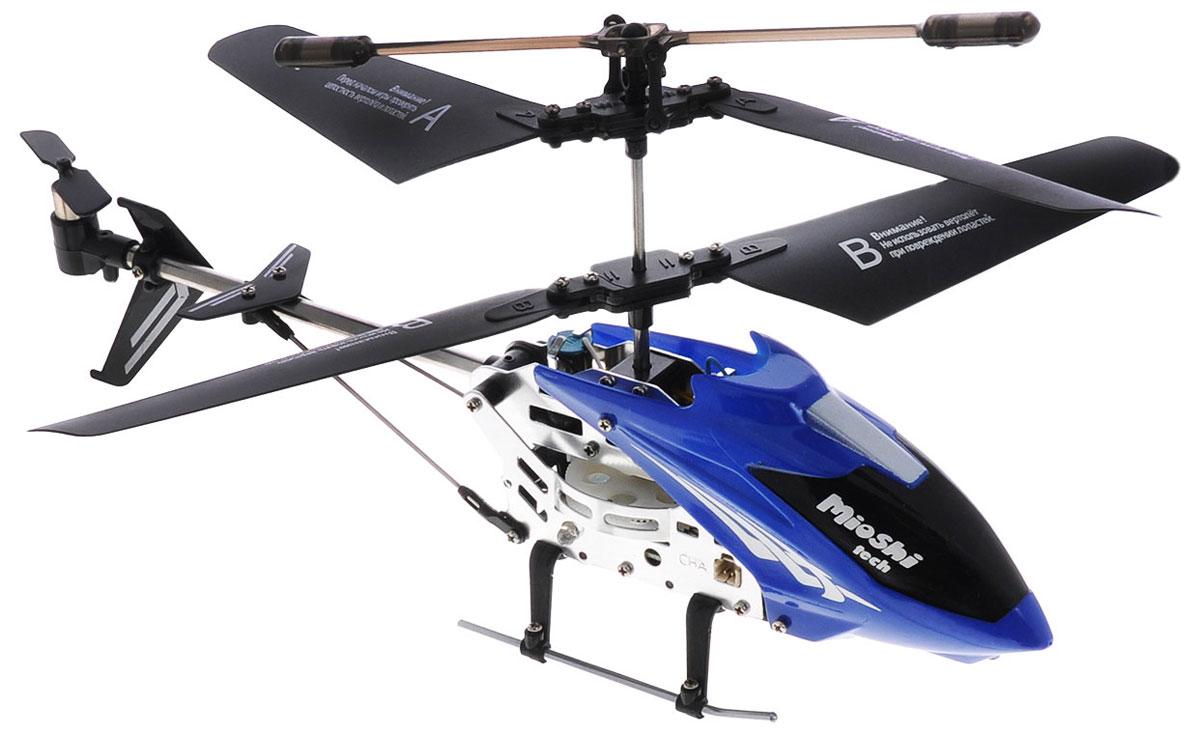 Mioshi Вертолет на инфракрасном управлении IR-107 цвет синий