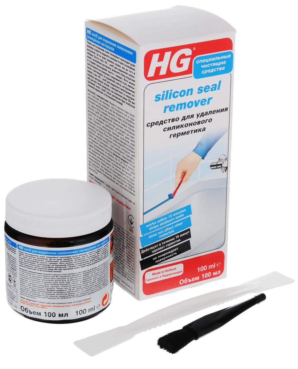 Средство для удаления силиконового герметика HG, 100 мл290010161Удаление старых слоев силиконового герметика отнимает много времени и сил. Средство HG создано для эффективного и быстрого решения данной проблемы. Предназначено для удаления старых слоев герметика с поверхностей из нержавеющей стали, различных видов пластика, натурального камня, а также с глазурованной и керамической плитки. Кисточка для нанесения и шпатель для удаления поставляются в комплекте. Характеристики: Объем: 100 мл. Артикул: 290010161. Товар сертифицирован. Уважаемые клиенты! Обращаем ваше внимание на возможные изменения в дизайне упаковки. Качественные характеристики товара остаются неизменными. Поставка осуществляется в зависимости от наличия на складе.