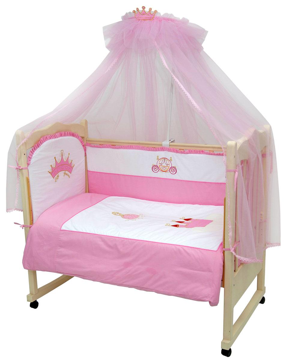 Топотушки Комплект белья для новорожденных Моя принцесса 3 предмета4630008876510Комплект белья для новорожденных Топотушки Моя принцесса выполнен в нежно-розовых тонах и украшен вышивкой. Комплект белья Моя принцесса создаст комфорт и уют в кроватке малышки и обеспечит ей крепкий и здоровый сон, а современный дизайн и цветовые сочетания помогут ребенку адаптироваться в новом для него мире. Комплект белья для новорожденных Топотушки Моя принцесса хорошо впишется в интерьер как детской комнаты, так и спальни родителей. Цветовые и дизайнерские решения - плоды совместных трудов европейских дизайнеров и российских технологов - делают внешний вид комплекта роскошным и незабываемым. Качество материала обеспечивает легкость стирки и долговечность. Комплект включает в себя наволочку 60 см х 40 см, пододеяльник 147 см х112 см, простыню на резинке 60 см х 120 см.