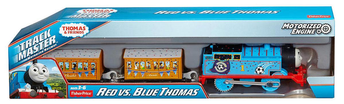 Thomas & Friends Паровозик Красный и синий Томас BMK93_DFM83