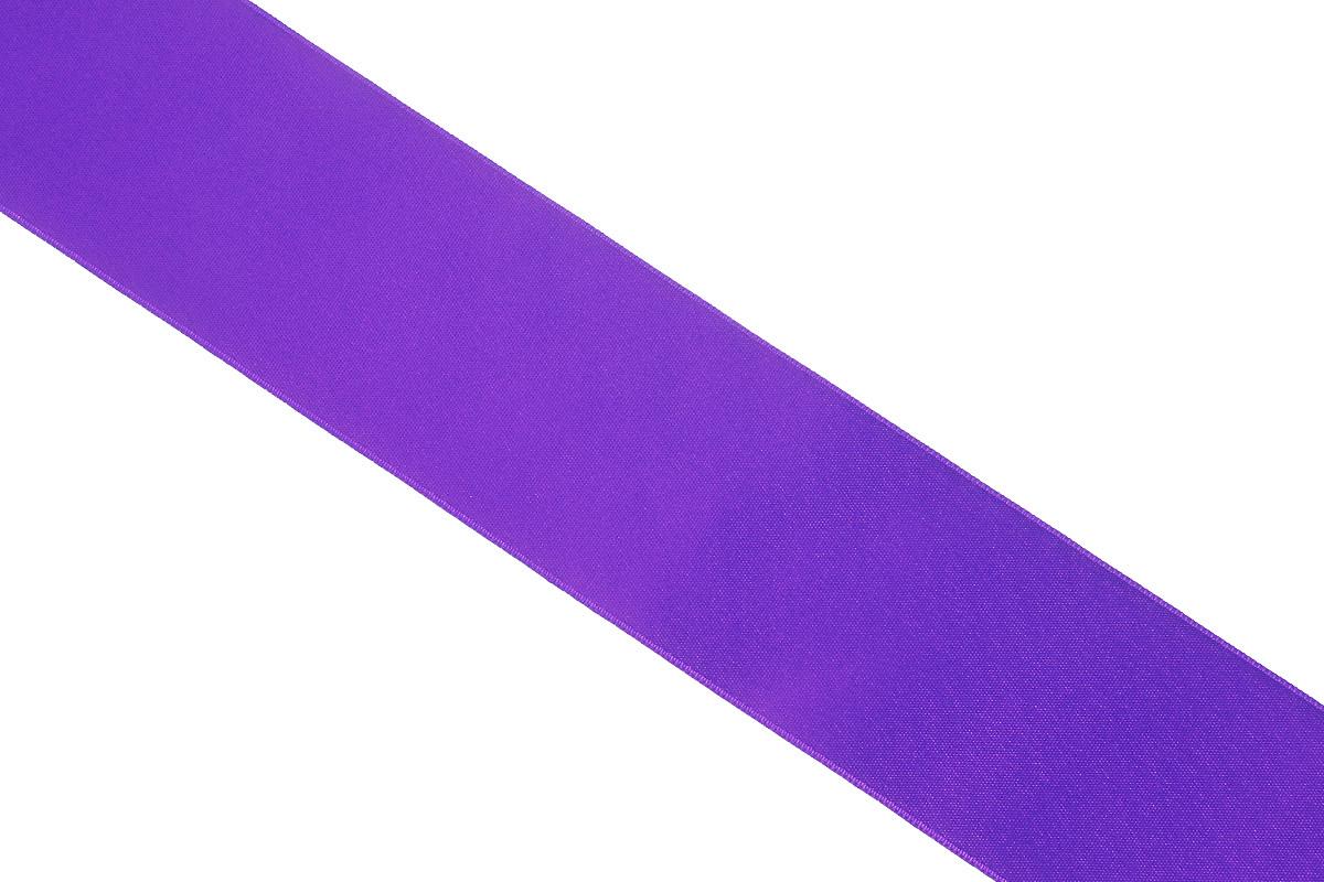 Лента атласная Prym, цвет: фиолетовый, ширина 38 мм, длина 25 м695806_60Атласная лента Prym изготовлена из 100% полиэстера. Область применения атласной ленты весьма широка. Изделие предназначено для оформления цветочных букетов, подарочных коробок, пакетов. Кроме того, она с успехом применяется для художественного оформления витрин, праздничного оформления помещений, изготовления искусственных цветов. Ее также можно использовать для творчества в различных техниках, таких как скрапбукинг, оформление аппликаций, для украшения фотоальбомов, подарков, конвертов, фоторамок, открыток и многого другого. Ширина ленты: 38 мм. Длина ленты: 25 м.