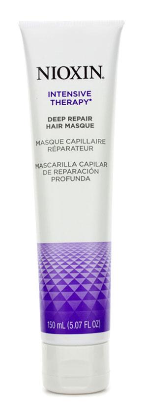 Nioxin Intensive Маска для глубокого восстановления волос Therapy Deep Repair Hair Masque 150 мл81274096Маска разработана для волос любого типа, которые стали сухими, были подвержены химическому воздействию или повреждены инструментами для укладки. Если у Вас очень сухие, поврежденные волосы, то Deep Repair Hair Masque (восстанавливающая маска) оказывает тройное укрепляющее действие, помогает восстановить поврежденные волосы, вернуть им эластичность и снизить химическое воздействие, оказываемое на волосы.