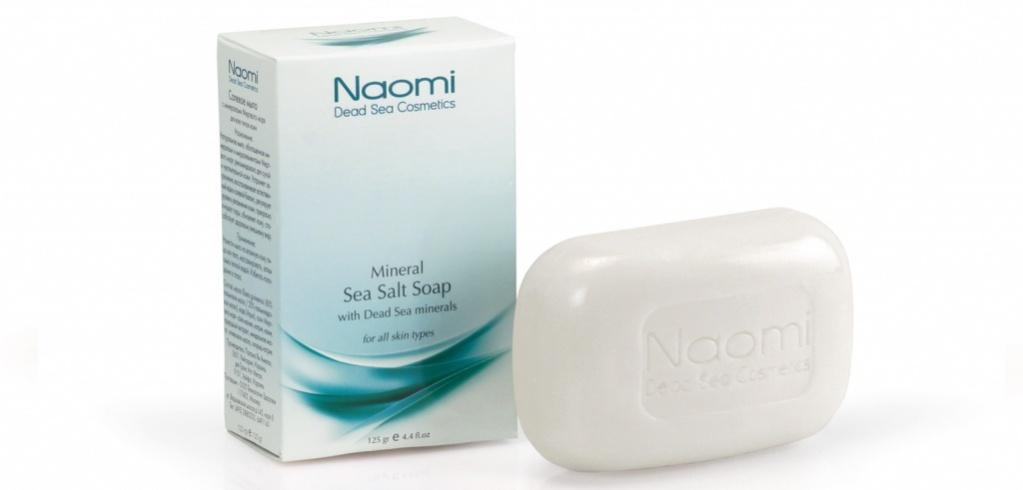 Naomi Мыло солевое с минералами Мертвого моря, 125 гKM 0004В борьбе с экологией мегаполиса наша кожа ежедневно теряет необходимые микроэлементы. Натуральное солевое мыло, обогащенное минералами Мертвого моря, очищает кожу и восстанавливает естественный водно-солевой баланс. Мыло имеет свежий, приятный запах и рекомендовано для людей с чувствительной и склонной к сухости кожей. Известные во всем мире благодаря своей эффективности минералы Мертвого моря насыщают кожу необходимым количеством влаги, прекрасно очищают поры, что, в конечном итоге, значительно улучшает общее состояние кожи и цвет лица.