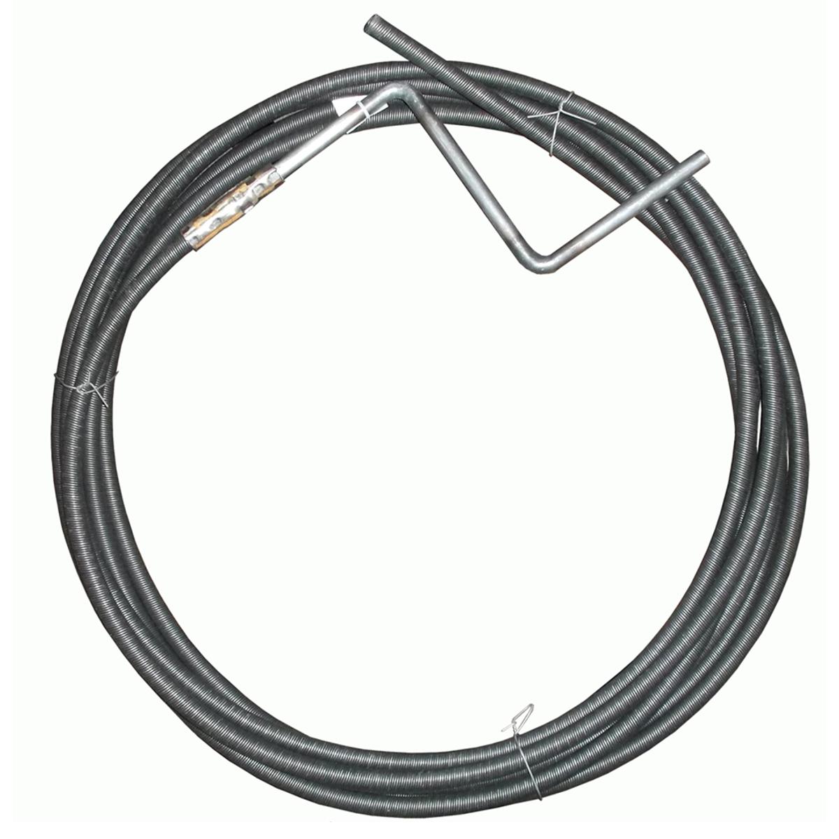 Трос пружинный для прочистки канализационных труб Masterprof, 6 мм х 5 мИС.130022Пружинный трос Masterprof, выполненный из металла, предназначен для прочистки канализационных труб. Диаметр: 6 мм. Длина: 5 м.