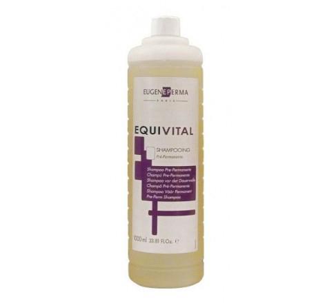 Eugene Perma Pre-Perm Shampoo Equivital - Шампунь перед химической завивкой 1000 мл  фен bosch phd1100