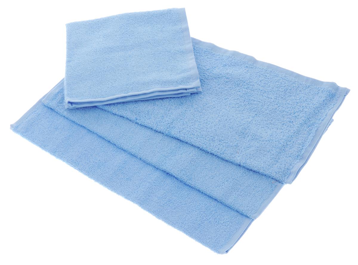 Набор махровых полотенец Aisha Home Textile, цвет: голубой, 40 х 40 см, 4 штУзТ-НПБ-100-06Набор Aisha Home Textile состоит из 4 махровых полотенец, выполненных из натурального 100% хлопка. Изделия отлично впитывают влагу, быстро сохнут, сохраняют яркость цвета и не теряют формы даже после многократных стирок. Полотенца Aisha Home Textile очень практичны и неприхотливы в уходе. Комплектация: 4 шт.