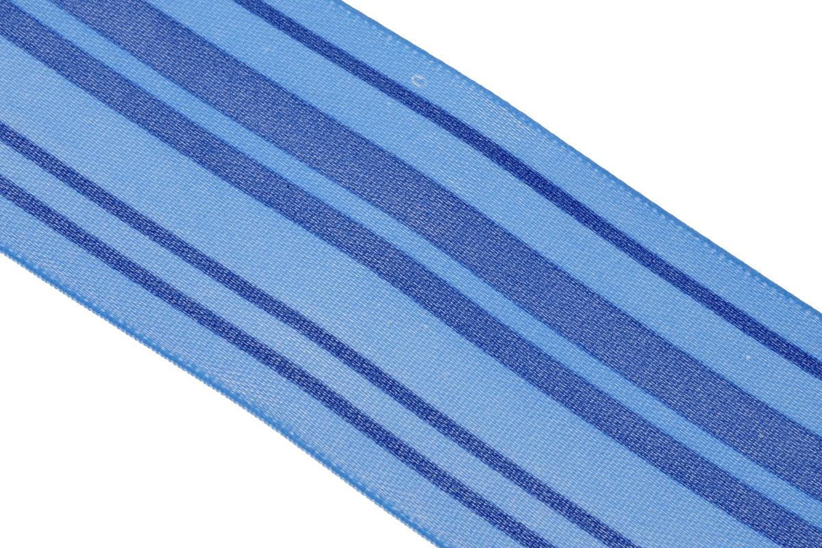 Лента атласная Dekor Line Горизонталь, цвет: синий, голубой, 4,5 х 300 см7710577_синийАтласная лента Dekor Line Горизонталь выполнена из высококачественного полиэстера. Область применения атласной ленты весьма широка. Лента предназначена для оформления цветочных букетов, подарочных коробок, пакетов. Кроме того, она с успехом применяется для художественного оформления витрин, праздничного оформления помещений, изготовления искусственных цветов. Ее также можно использовать для творчества в различных техниках, таких как скрапбукинг, оформление аппликаций, для украшения фотоальбомов, подарков, конвертов, фоторамок, открыток и прочего. Ширина ленты: 4,5 см. Длина ленты: 3 м.