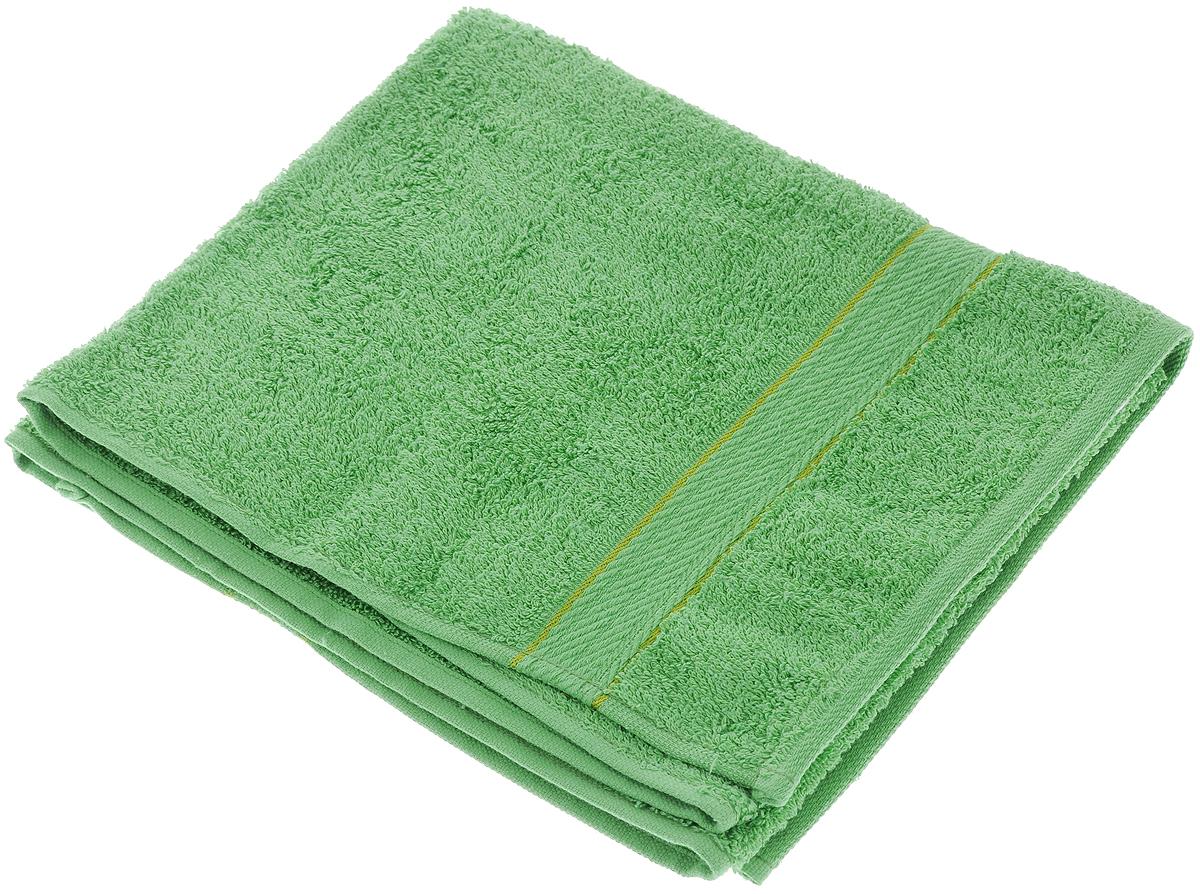 Полотенце махровое Aisha Home Textile, цвет: зеленый, 50 х 90 смУзТ-ПМ-112-08-08Махровое полотенце Aisha Home Textile выполнено из натуральной махровой ткани (100% хлопок). Изделие отлично впитывает влагу, быстро сохнет, сохраняет яркость цвета и не теряет форму даже после многократных стирок. Полотенце очень практично и неприхотливо в уходе. Оно создаст прекрасное настроение в ванной комнате. Рекомендации по уходу: - режим стирки при 40°C, - химчистка не допускается, - отбеливание запрещено