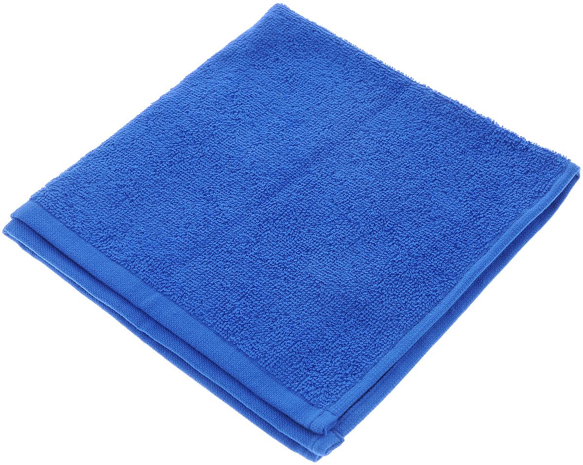 Полотенце махровое Aisha Home Textile, цвет: синий, 40 х 40 смУзТ-МПБ-005-08-19Махровое полотенце Aisha Home Textile выполнено из натуральной махровой ткани (100% хлопок). Изделие отлично впитывает влагу, быстро сохнет, сохраняет яркость цвета и не теряет форму даже после многократных стирок. Полотенце очень практично и неприхотливо в уходе. Оно создаст прекрасное настроение не только в ванной комнате, но и в кухне. Рекомендации по уходу: - режим стирки при 60°C, - гладить при температуре 150°C, - химчистка не допускается, - отбеливание запрещено.