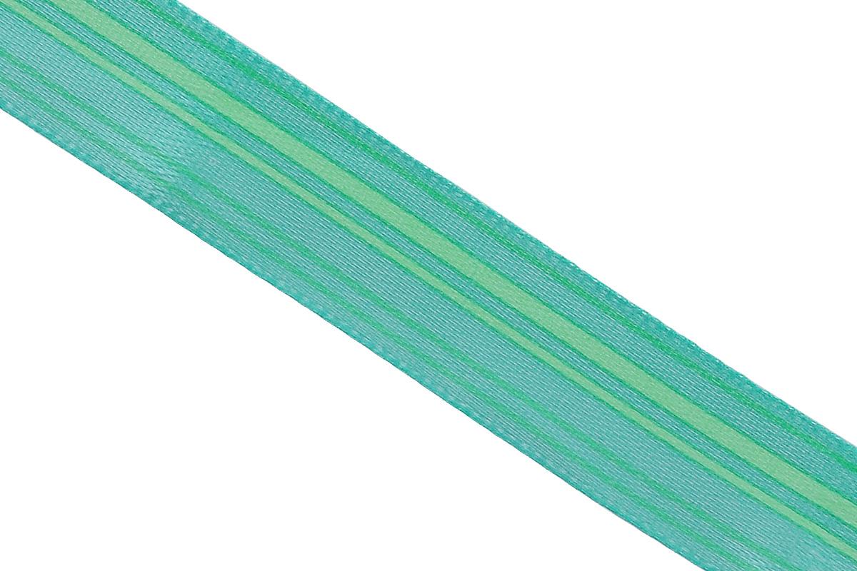 Лента атласная Dekor Line Горизонталь, цвет: зеленый, светло-зеленый, 1,5 х 300 смC0042415Атласная лента Dekor Line Горизонталь выполнена из высококачественного полиэстера. Область применения атласной ленты весьма широка. Лента предназначена для оформления цветочных букетов, подарочных коробок, пакетов. Кроме того, она с успехом применяется для художественного оформления витрин, праздничного оформления помещений, изготовления искусственных цветов. Ее также можно использовать для творчества в различных техниках, таких как скрапбукинг, оформление аппликаций, для украшения фотоальбомов, подарков, конвертов, фоторамок, открыток и прочего.Ширина ленты: 1,5 см.Длина ленты: 3 м.