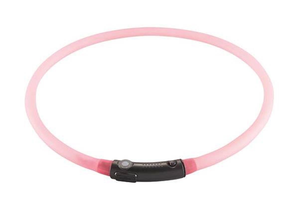 Светящийся шнурок Hunter на шею LED 20-70 см розовый90235Hunter cветящийся шнурок на шею LED 20-70 см диаметр 1 см розовый Практичный светодиодный силиконовый шнурок. Видимость до 500 метров. Аккумулятор заряжается через USB. Водостойкий. 2 режима свечения (мигание и постоянный режим). Для уменьшения размера, просто отрежьте кусочек шнура ножницами. Время непрерывной работы 2-3 часа. Время полной зарядки около 60 минут.