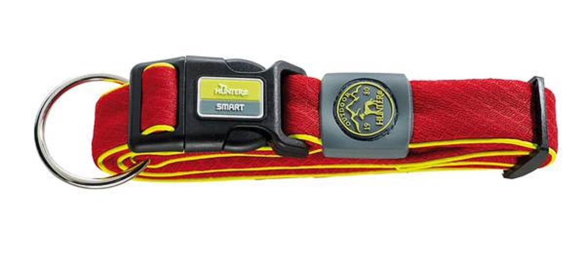 Ошейник для собак Hunter Maui L (42-65 cм) / 4,5 см сетчатый текстиль красный0120710Hunter ошейник для собак Maui 42-65 cм сетчатый текстиль красный Ошейник выполнен из невероятно мягкого и легкого текстильного материала. Регулируется по размеру в широком диапазоне. Обхват шеи 42-65 см.