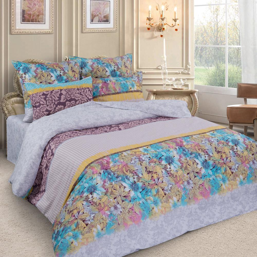 Комплект белья Letto, семейный, наволочки 70x70. PL26-7 комплект белья letto дуэт семейный наволочки 70х70 цвет голубой b33 7