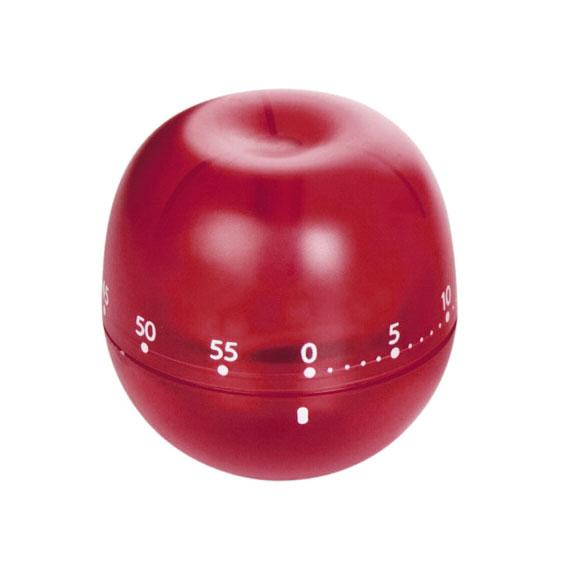Таймер кухонный Tescoma Фрукт. Яблоко, цвет: красный, на 60 мин636071_ красныйКухонный таймер Tescoma Фрукт. Яблоко изготовлен из цветного пластика. Таймер выполнен в виде яблока. Максимальное время, на которое вы можете поставить таймер, составляет 60 минут. После того, как время истечет, таймер громко зазвенит. Оригинальный дизайн таймера украсит интерьер любой современной кухни, и теперь вы сможете без труда вскипятить молоко, отварить пельмени или вовремя вынуть из духовки аппетитный пирог.
