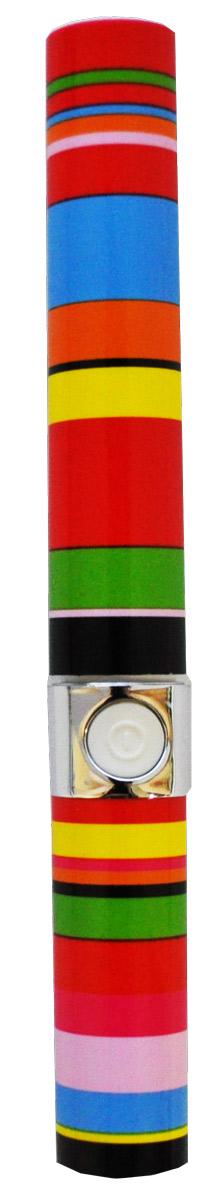 Longa Vita Вибрационная зубная щетка Радуга. SG-929129918Стильное и компактное решение для активных людей. - Элегантный корпус с защитным колпачком напоминает дизайн туши для ресниц. - Миниатюрные размеры (длина - 16 см, диаметр - 2 см) позволяют носить щетку с собой. - Щетинки совершают 20000 колебаний в мин. - Чистка зубов вибрационной щеткой намного тщательнее, чем обычной щеткой. - Длинные щетинки по краям вычищают налет из труднодоступных участков. - Прорезиненная кнопка включения для удобства и безопасности. - Возможность мытья под водой. - Работа от одной щелочной батарейки типа ААА. -Дополнительная сменная насадка