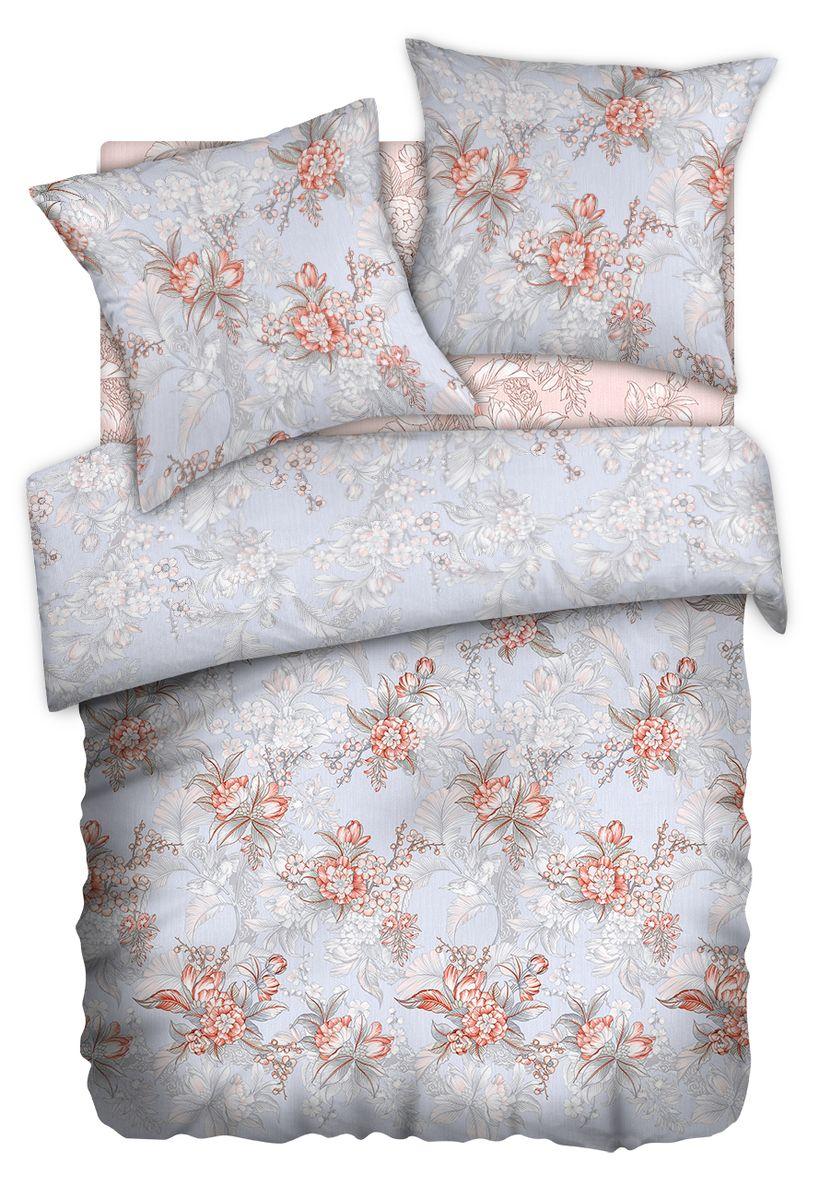 Комплект белья Carte Blanshe Misty Morning, 1,5 спальное, наволочки 70x70, цвет: розовый. 333454333454Коллекция эксклюзивного постельного белья, созданная итальянскими дизайнерами прекрасного старинного городка Италии — Riva del Gard. Постельное белье выполнено из великолепной ткани премиум — класса «Percale Soft Touch». Эта ткань произведена из 100% натурального хлопка имеет специальную обработку «Wise Silk», которая придает дополнительную гладкость и шелковистость ткани. Благодаря специальной обработке ткань более приятная на ощупь, практически не мнется.