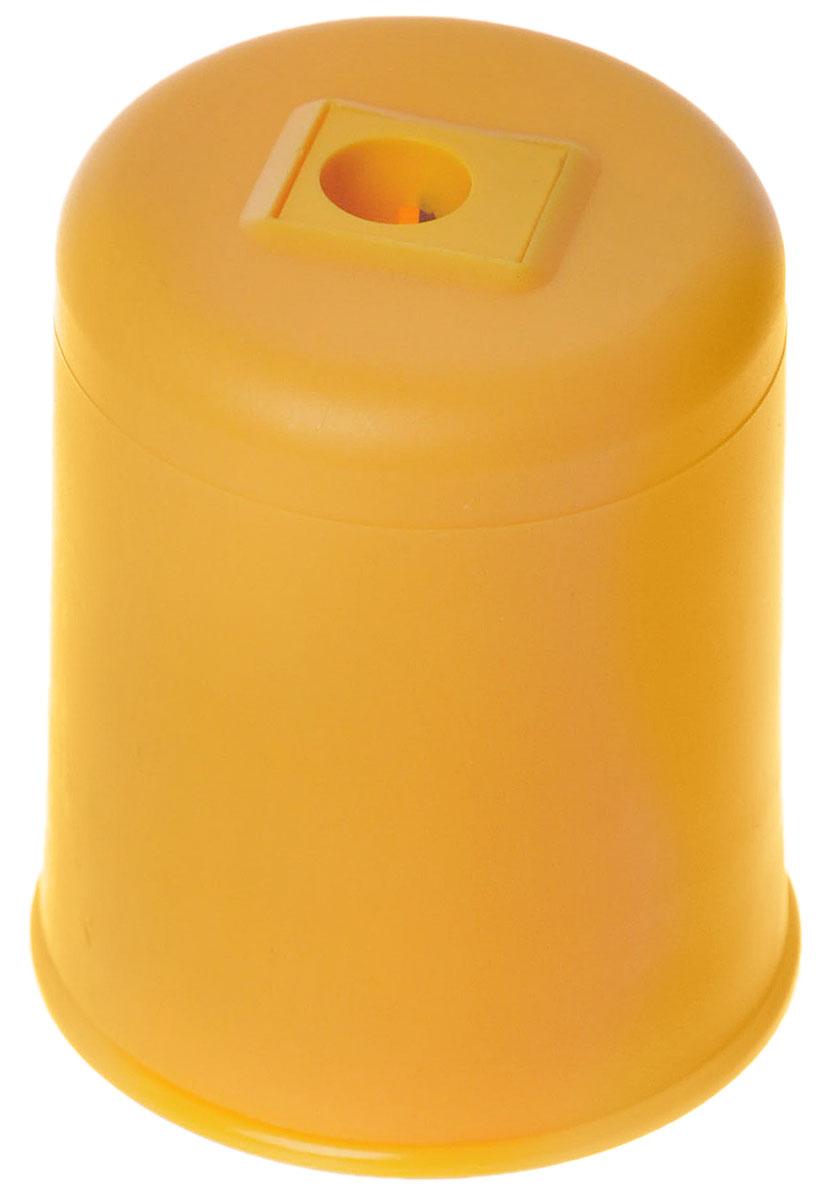 Kum Точилка Pod Ice с контейнером цвет желтыйFS-36054Удобная точилка Kum Pod Ice в пластиковом корпусе с крышкой предназначена для затачивания карандашей. Острое стальное лезвие обеспечивает высококачественную и точную заточку. Карандаш затачивается легко и аккуратно, а опилки после заточки остаются в специальном контейнере повышенной вместимости.