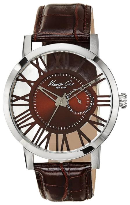 Наручные часы мужские Kenneth Cole Transparency, цвет: серый. 1002081110020811Часы наручные Kenneth Cole 10020811