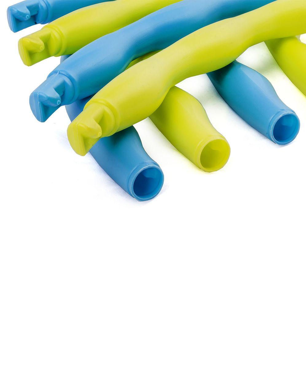 Обруч массажный Star Fit, разборный, цвет: синий, салатовый, диаметр 90 смRUC-01Star Fit - это массажный разборный обруч от популярного австралийского бренда. Обруч легко собирается и разбирается. Диаметр регулируется, благодаря чему обруч подходит взрослым и детям. Упражнения с этим обручем сжигают больше калорий, чем с обычным. Улучшается кровообращение, усиливается мышечный тонус, что приводит к более активному сжиганию жира.Массажный обруч развивает координацию движений, гибкость, силу, чувство ритма, артистичность, укрепляет вестибулярный аппарат. Сжигает подкожный жир в проблемных участках тела, улучшает состояние кожи в области талии, живота и бёдер. Нормализует работу кишечника. Тренирует и развивает мышцы рук, плеч, спины и ног.С помощью обруча можно выполнять большое количество упражнений из гимнастики, и упражнений на растяжку. Массажный обруч удобен и прост в использовании. Не требует особых знаний и места для занятий.Достаточно вращать обруч 10-20 минут в день и таким образом фигура изменится в положительную сторону.
