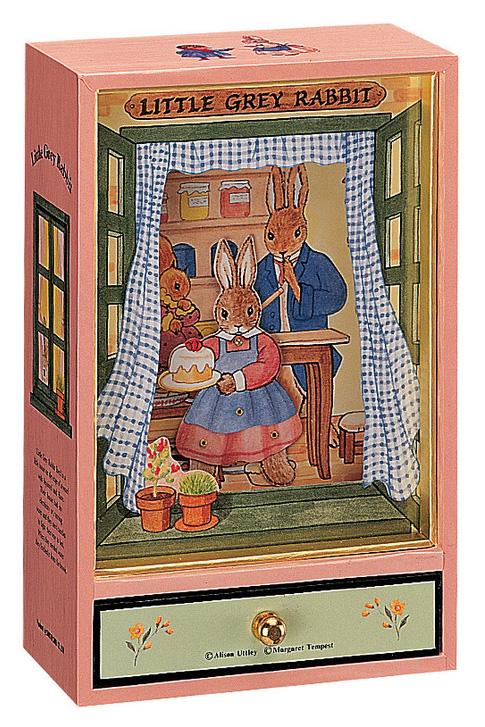 Trousselier Музыкальная шкатулка Little Grey Rabbit цвет розовый