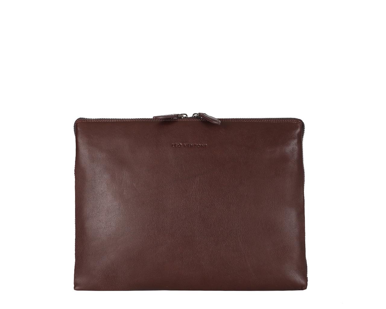 Папка мужская Leo Ventoni, цвет: темно-коричневый. 03002352 03002352-marrone