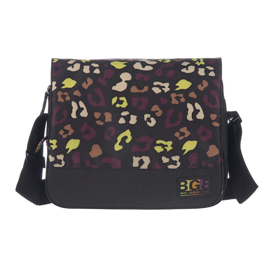 Сумка молодежная Grizzly, цвет: коричневый, 15 л. MD-644-3/43-47670-00504Молодежная сумка, два отделения, клапан на липучках, два передних кармана, объемный передний карман на молнии, плоский передний карман на молнии, внутренний карман на молнии, регулируемый плечевой ремень