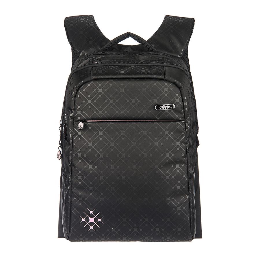 Рюкзак городской Grizzly, цвет: черный, 20 л, 21 л. RD-649-1/1RD-649-1/1Рюкзак молодежный, два отделения, карман на молнии на передней стенке, боковые карманы из сетки, внутренний карман на молнии, внутренний карман-пенал для карандашей, внутренний укрепленный карман для ноутбука, укрепленная спинка, карман быстрого доступа в верхней части рюкзака, мягкая укрепленная ручка, нагрудная стяжка-фиксатор, укрепленные лямки