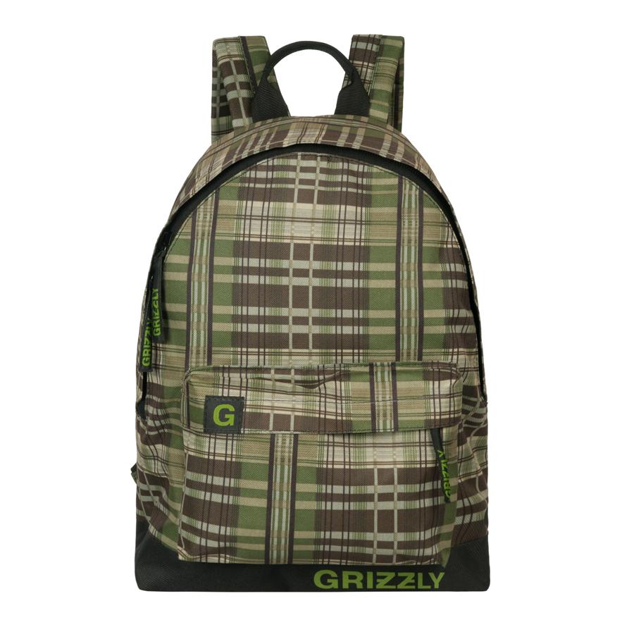 Рюкзак городской Grizzly, цвет: хаки, 26 л. RU-600-1/4RU-600-1/4Рюкзак молодежный, одно отделение, объемный карман на молнии на передней стенке, внутренний подвесной карман на молнии, укрепленная спинка, дополнительная ручка-петля, укрепленные лямки